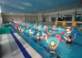 의성군, 맞춤형 수중운동교실 심화반 운영